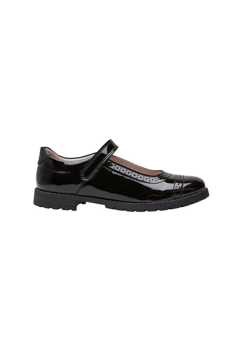 Pantofi de piele lacuita Mary Jane