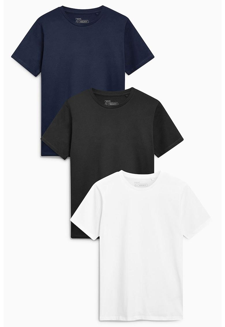 Set de tricouri regular fit - 3 piese de la NEXT