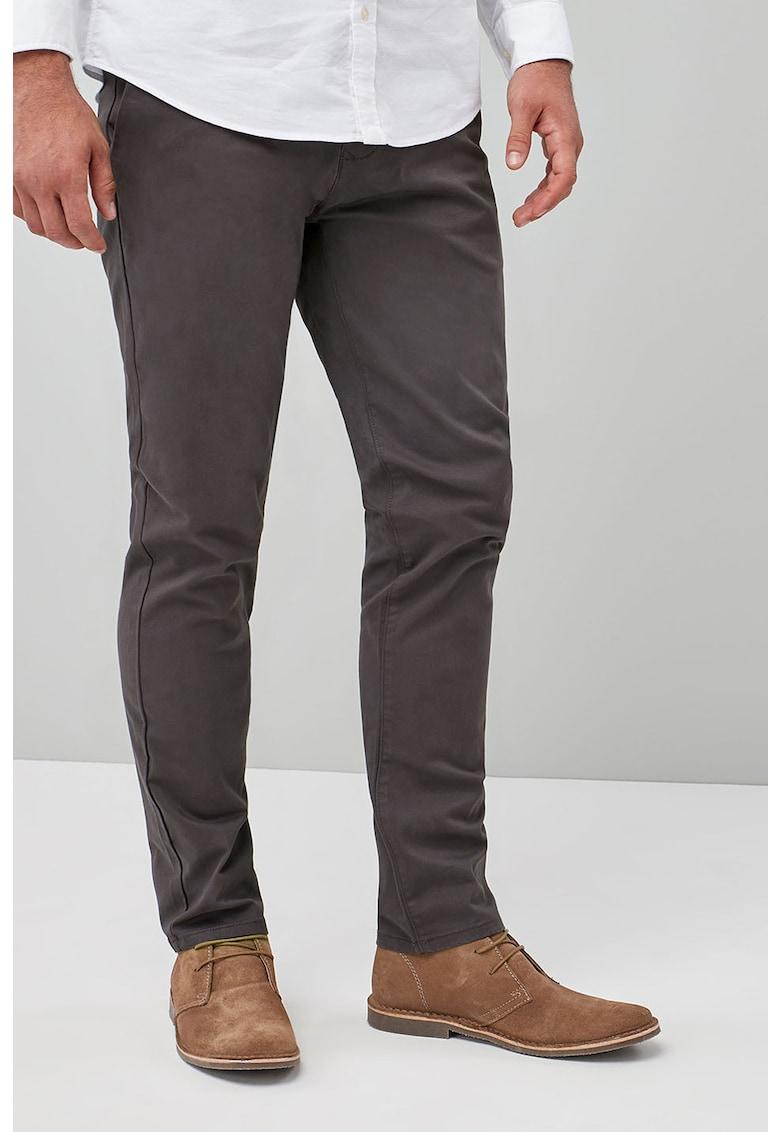 Pantaloni chino cu croiala dreapta