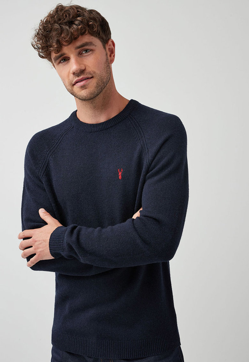 NEXT Pulover de lana cu detaliu brodat