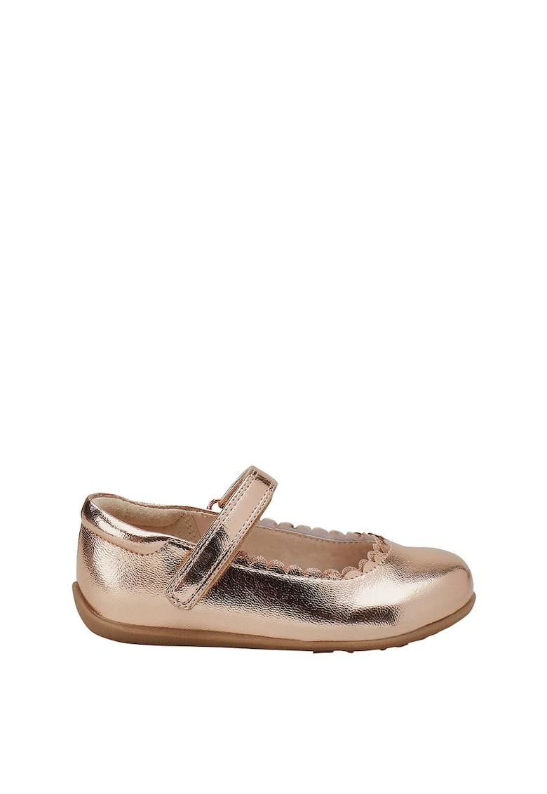 NEXT Pantofi Mary-Jane de piele sintetica