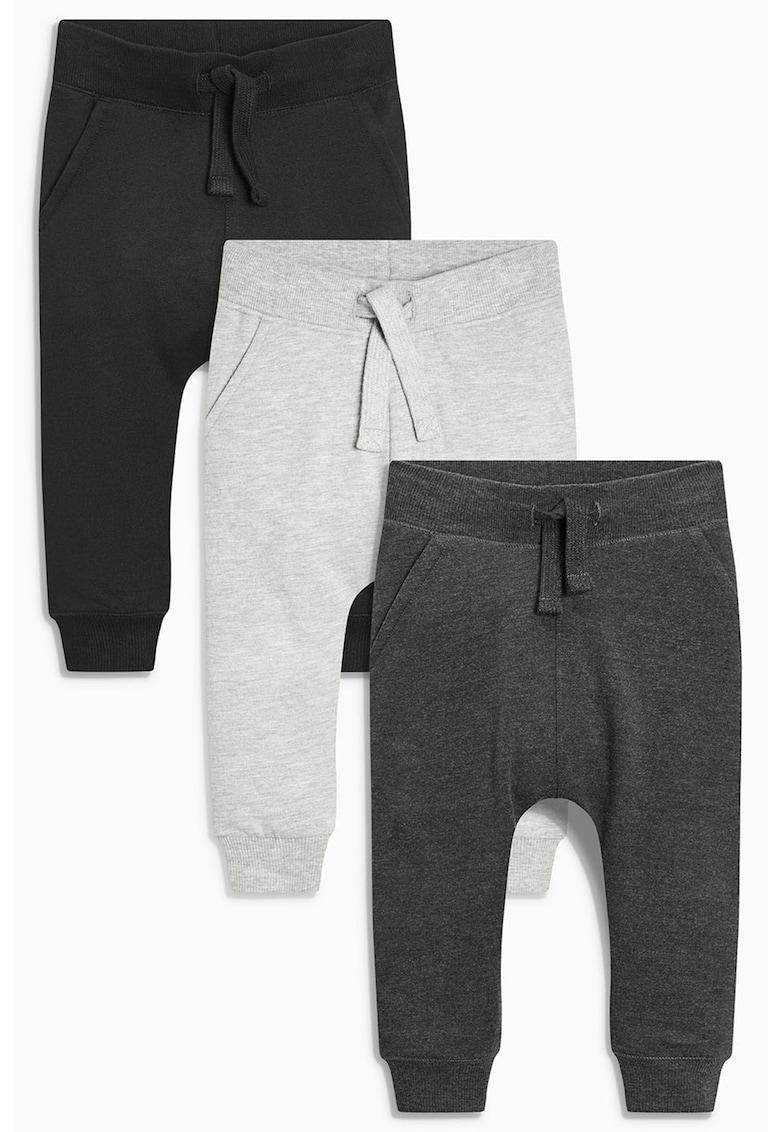 NEXT Set de pantaloni jogger super skinny - 3 perechi 1