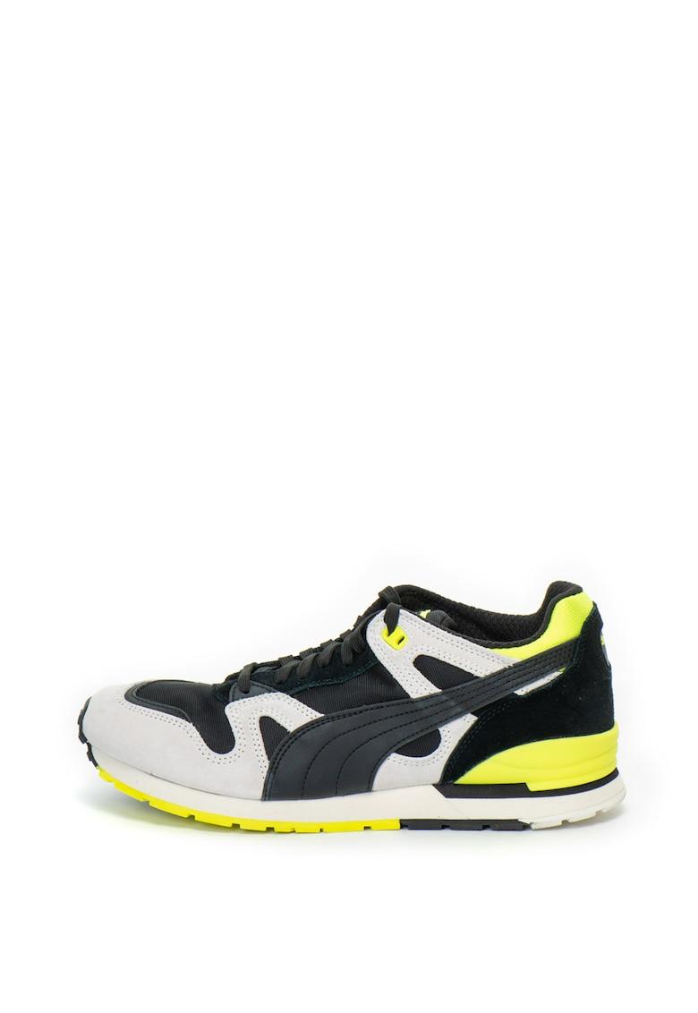 Pantofi sport colorblock cu insertii de piele intoarsa Duplex OG X Careaux