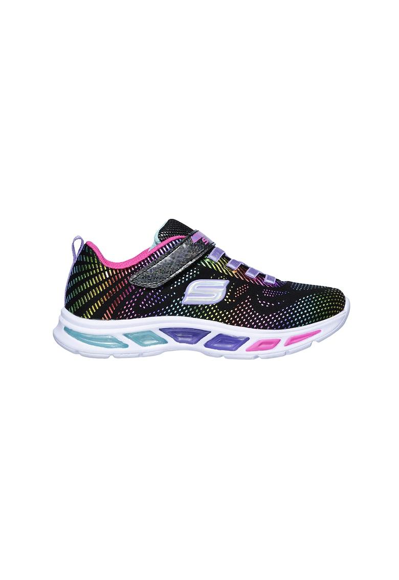Pantofi sport cu velcro si LED-uri Gleam N' Dream