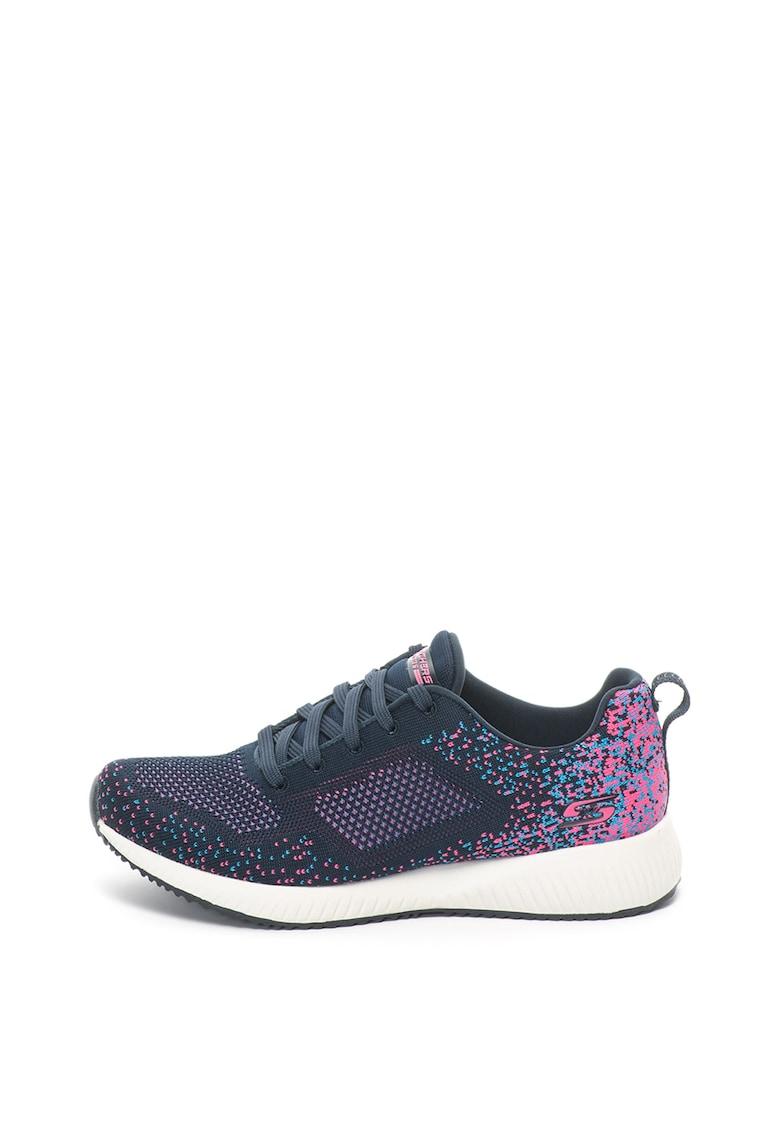 Skechers Pantofi sport din material usor cu aspect tricotat Bobs® Squad