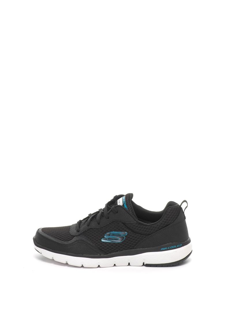 Skechers Pantofi sport cu garnituri de piele Flex Advantage 3.0