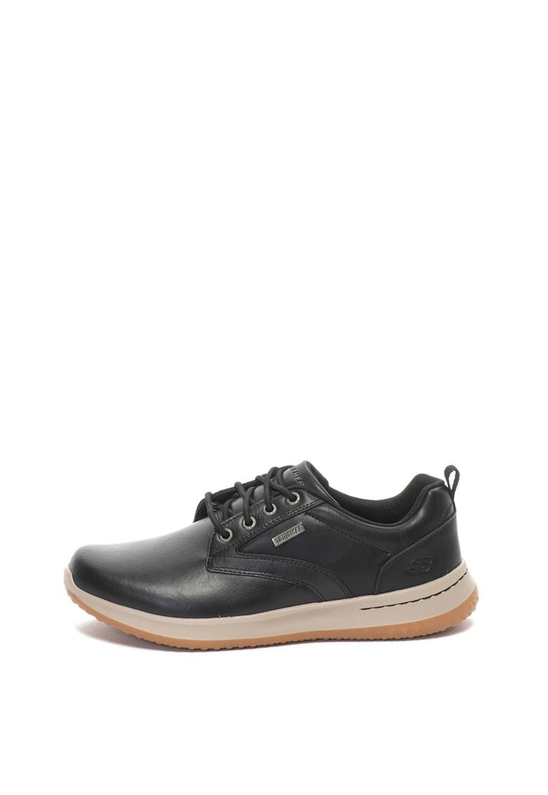 Skechers Pantofi casual de piele impermeabili Delson