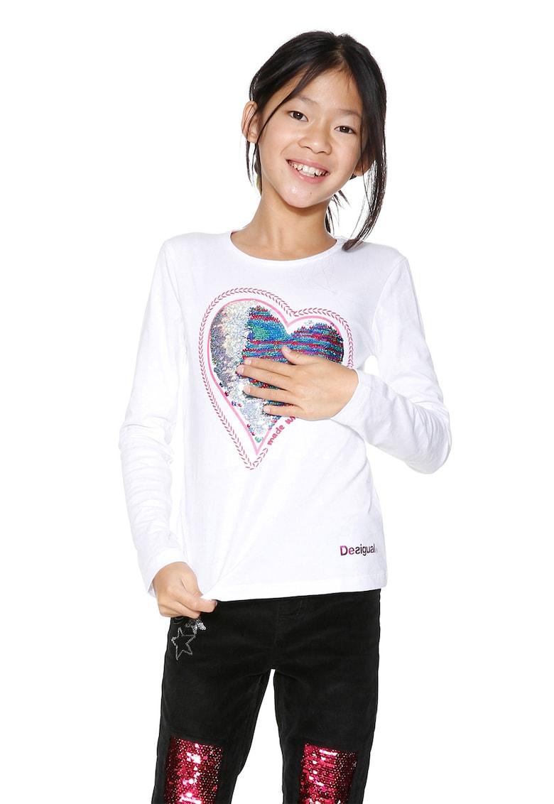 DESIGUAL Bluza cu paiete reversibile