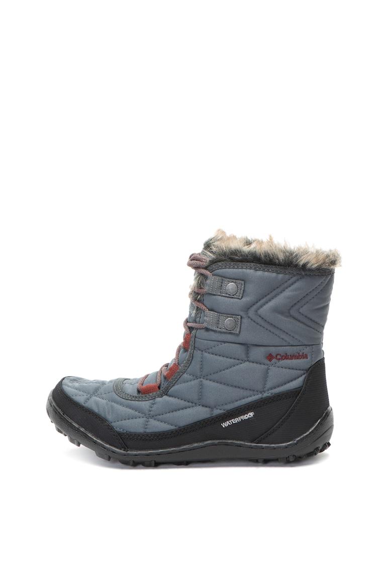 Ghete de iarna impermeabile cu tehnologie Omni-Heat™ Minx™ de la Columbia