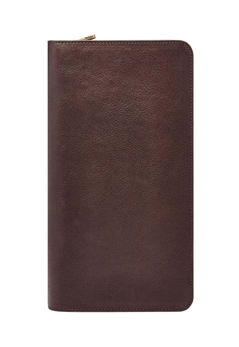 Portofel de piele cu fermoar imagine fashiondays.ro 2021