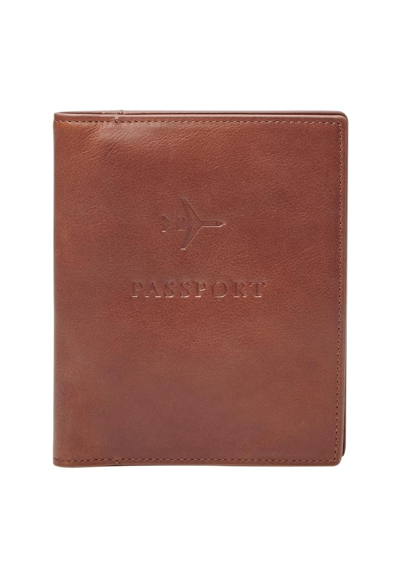 Fossil Portcart de piele pentru pasaport