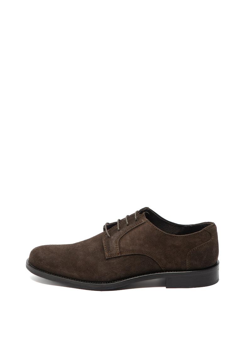 Pantofi de piele intoarsa Crosta de la Zee Lane Collection