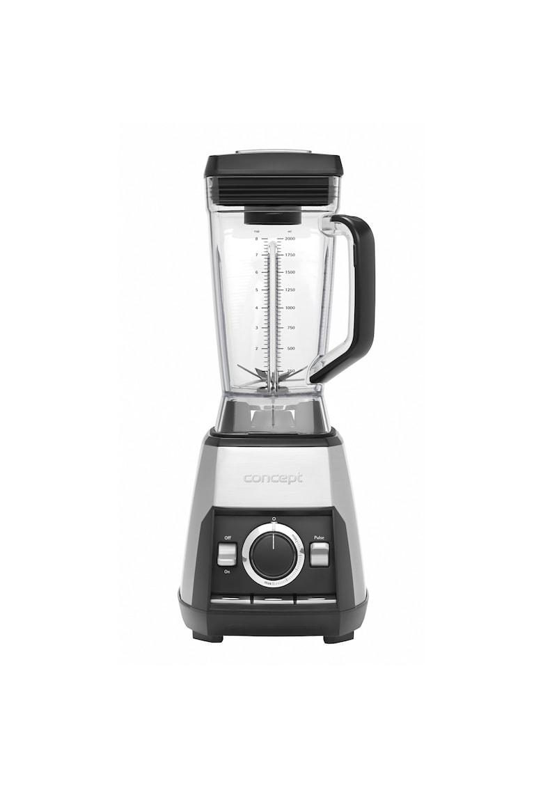 Blender - 1600 W - 2 L - 33000 rpm - vas din tritan fara BPA - 6 cutite - Inox imagine fashiondays.ro 2021