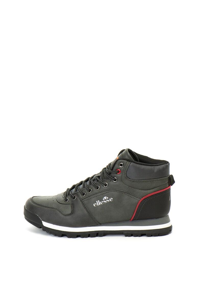 Pantofi sport mid-high din piele ecologica si material textil Dandy