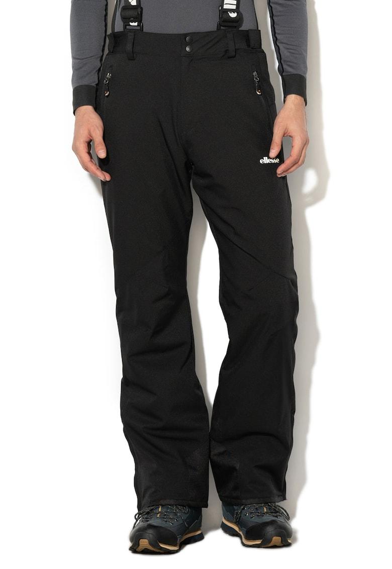 Pantaloni de schi impermeabil si rezistenta la vant cu bretele de la ELLESSE