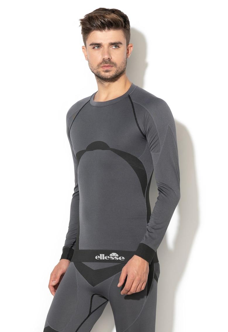 Bluza base layer din raglan pentru schi