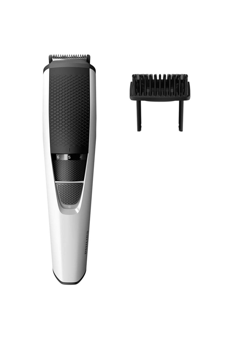 Philips Aparat de tuns barba  BT3206/14 - Lame din inox 0.5-10mm - Alb/Negru