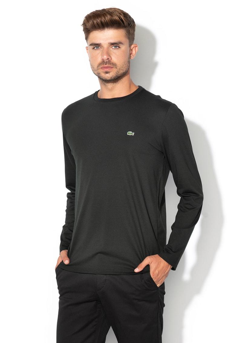 Bluza regular fit cu aplicatie logo rodata 1