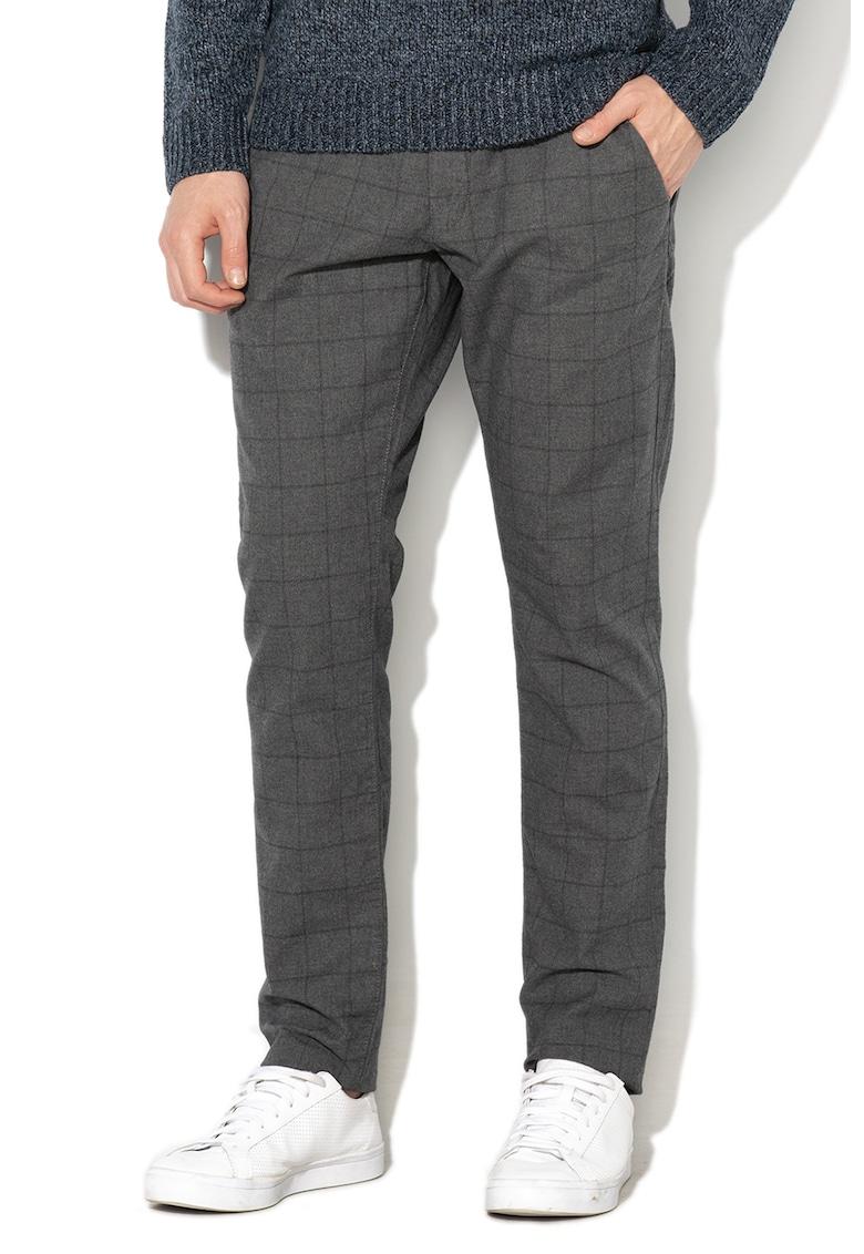 Esprit Pantaloni conici in carouri