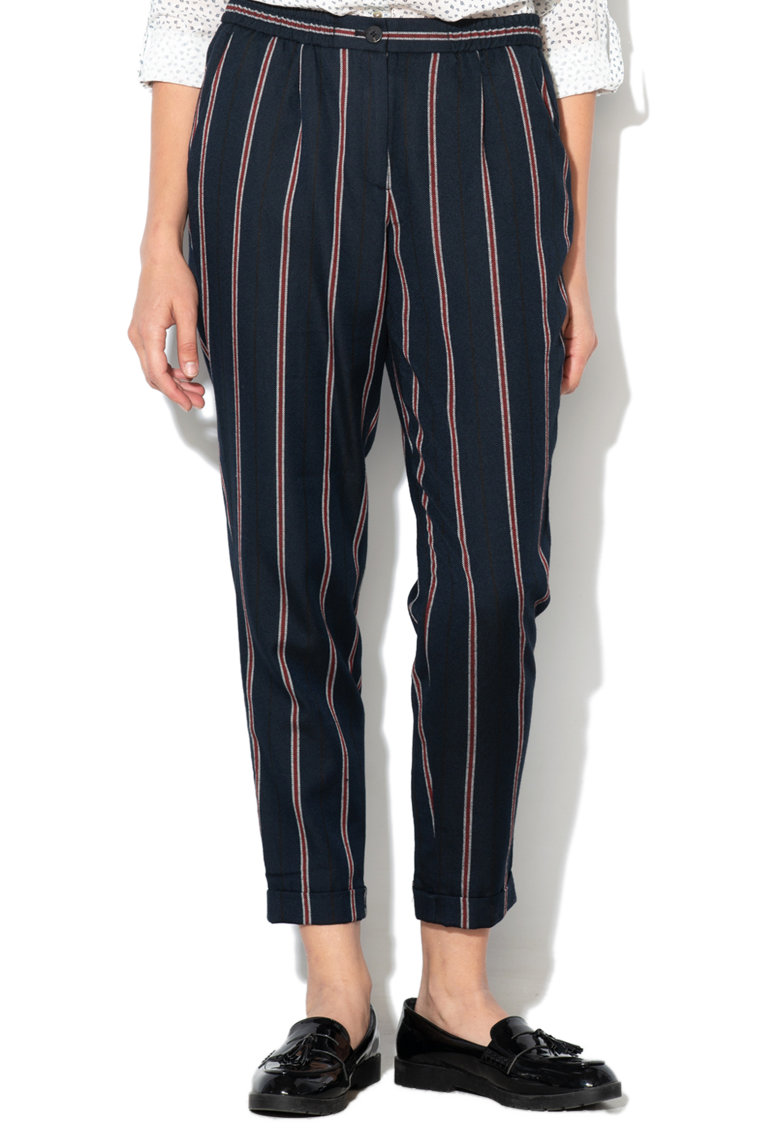 Esprit Pantaloni conici – cu model in dungi