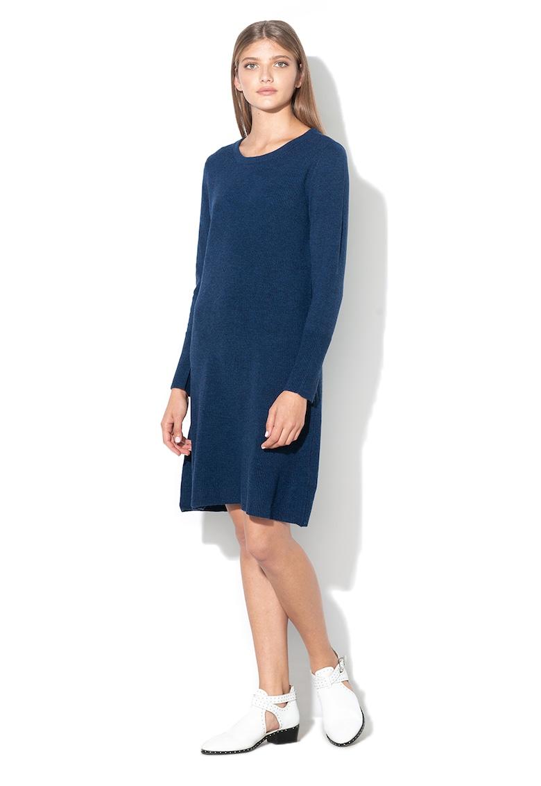 Rochie din amestec de lana