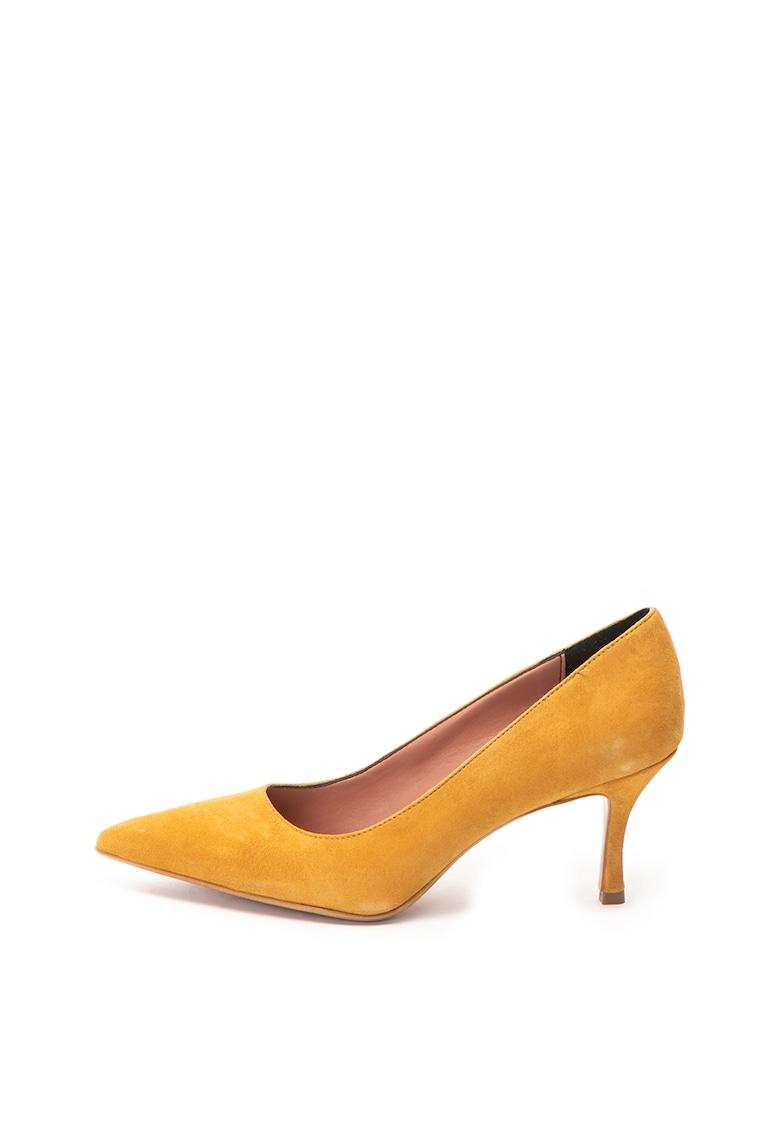 Zee Lane Pantofi stiletto de piele intoarsa Diana