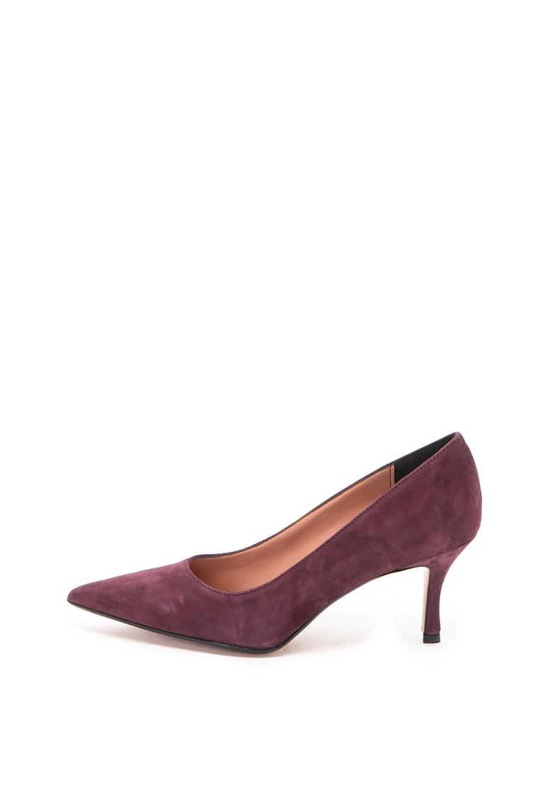 Zee Lane Pantofi de piele intoarsa cu varf ascutit Diana
