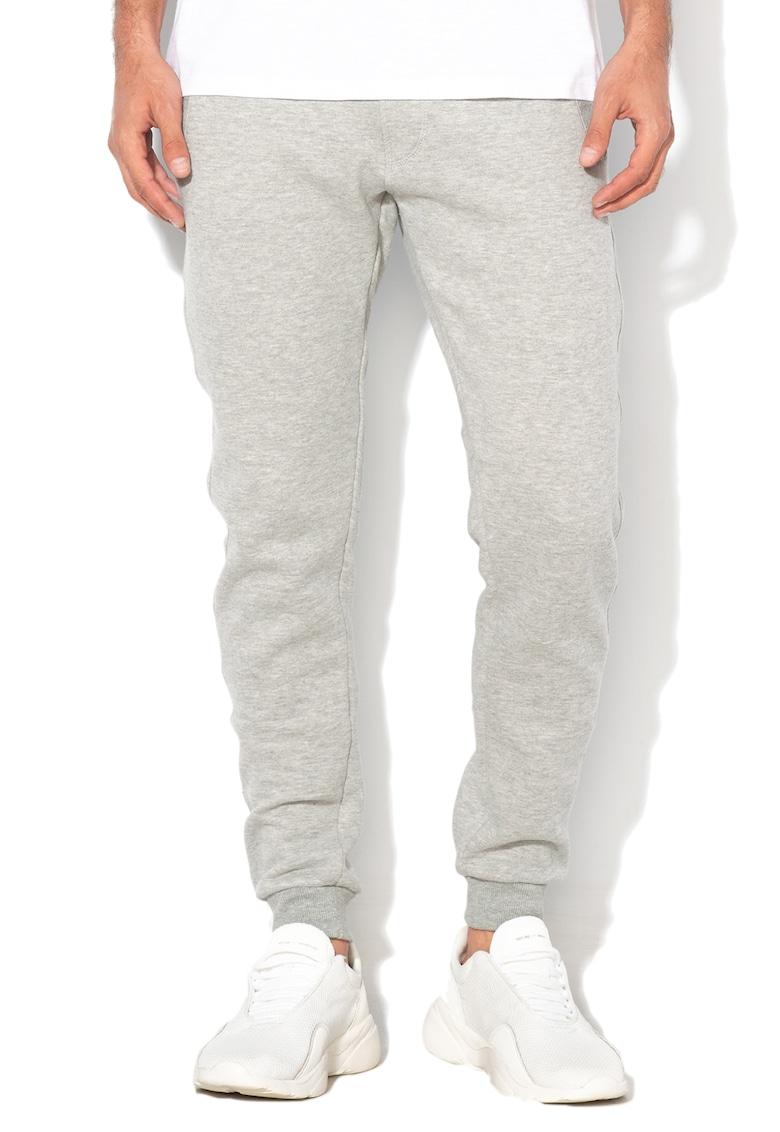 Pantaloni sport cu captuseala din fleece si snur pentru ajustare de la BLEND