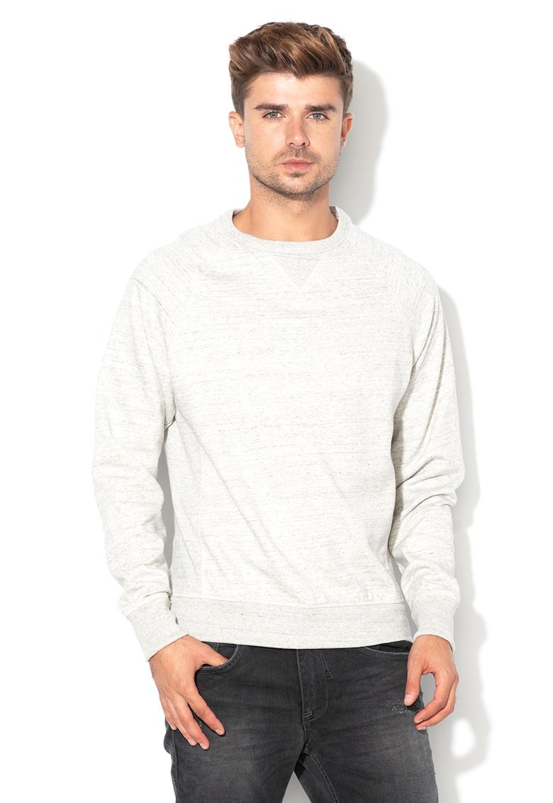 BLEND Bluza sport cu terminatii striate