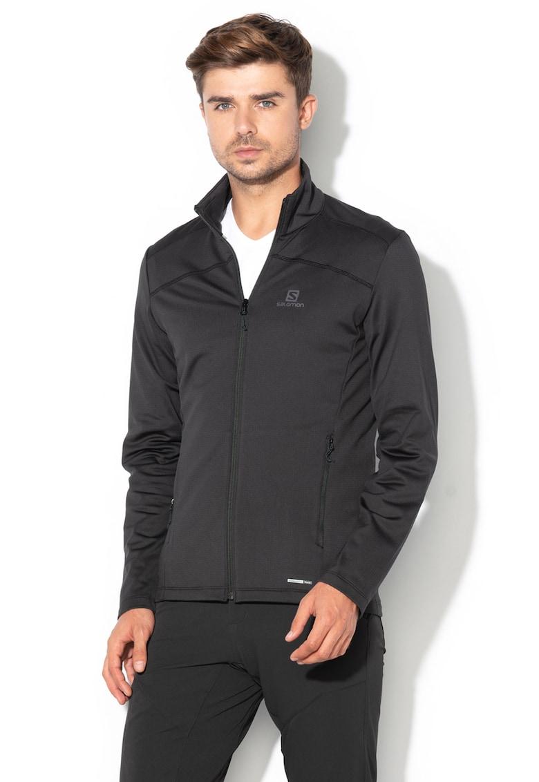 Bluza sport cu tehnologie AdvancedSkin Warm - pentru drumetii Discovery