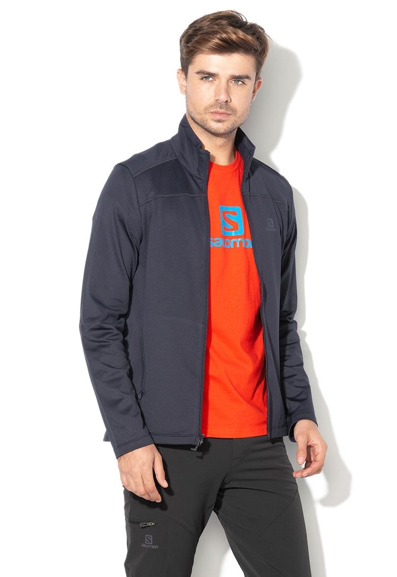 Jacheta cu buzunare frontale cu fermoar – pentru drumetii Discovery de la Salomon