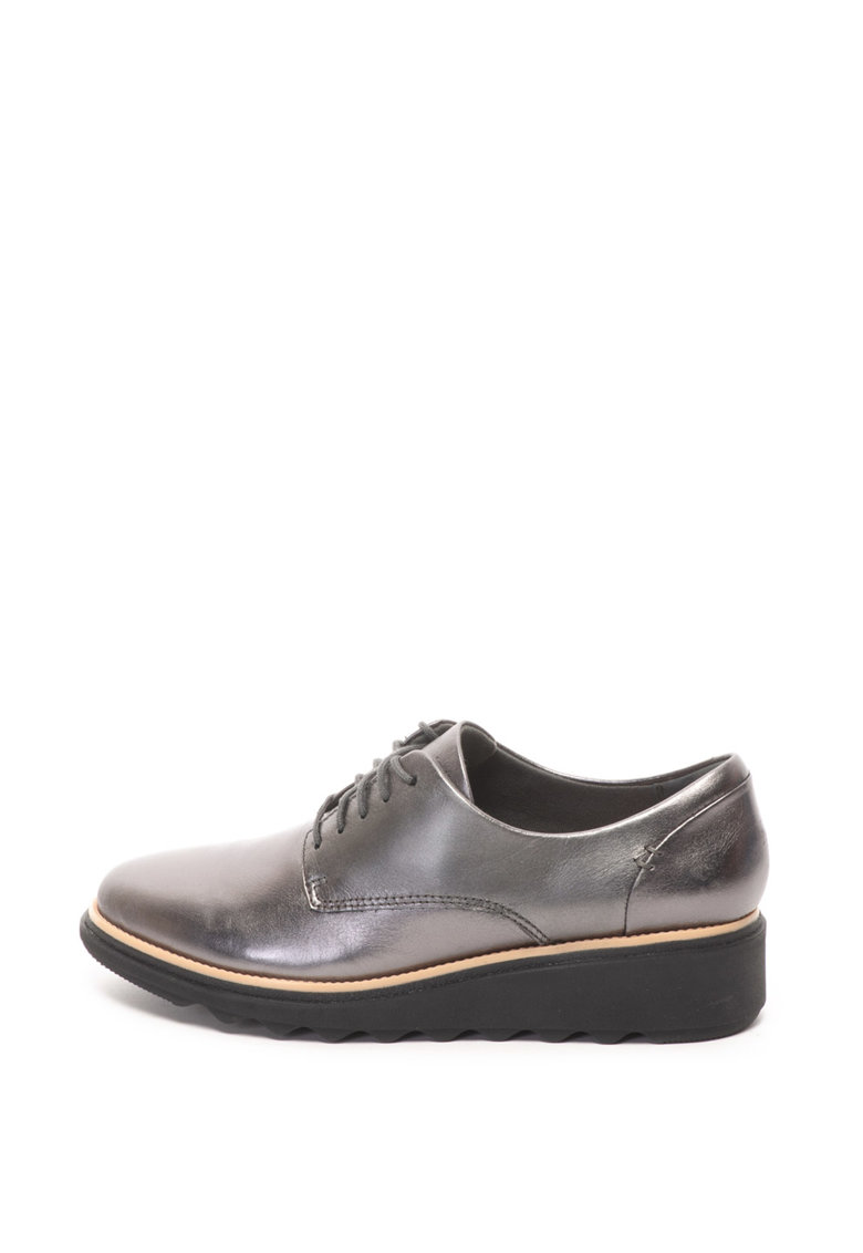 Pantofi derby de piele Sharon Noel de la Clarks