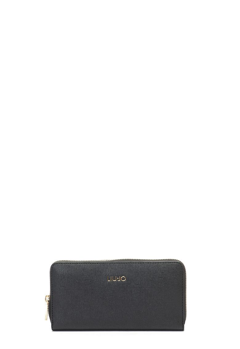 Liu Jo Portofel de piele ecologica – cu aplicatie logo