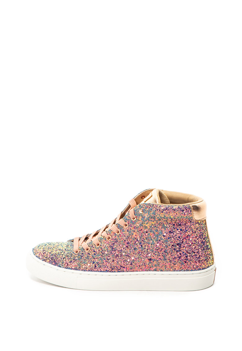 Skechers Tenisi stralucitori inalti Side Street Night Life