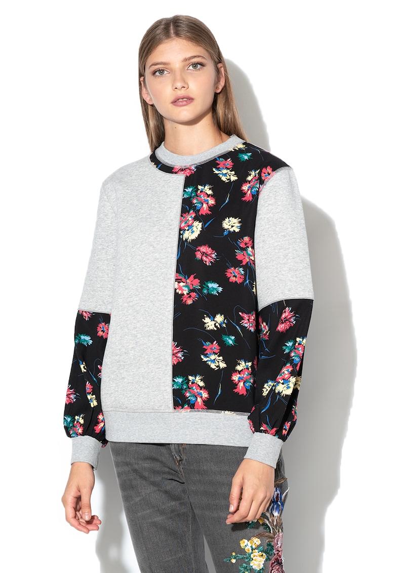 Bluza sport cu imprimeu floral Megaton