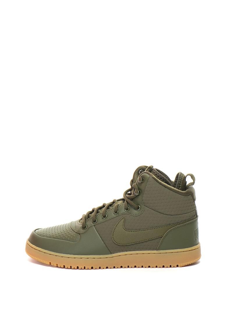 Pantofi sport mid-high din piele si piele ecologica Ebernon