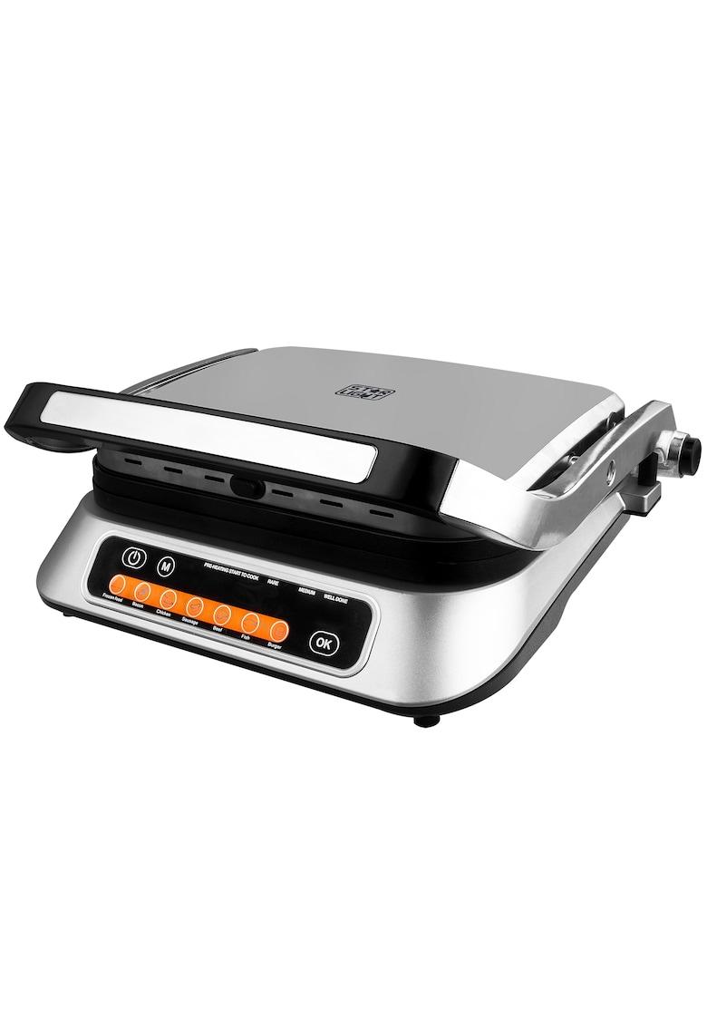 Star-Light Gratar electric   - 2100W - 6 programe automate de gatit - Senzor automat pentru gatit - Inox
