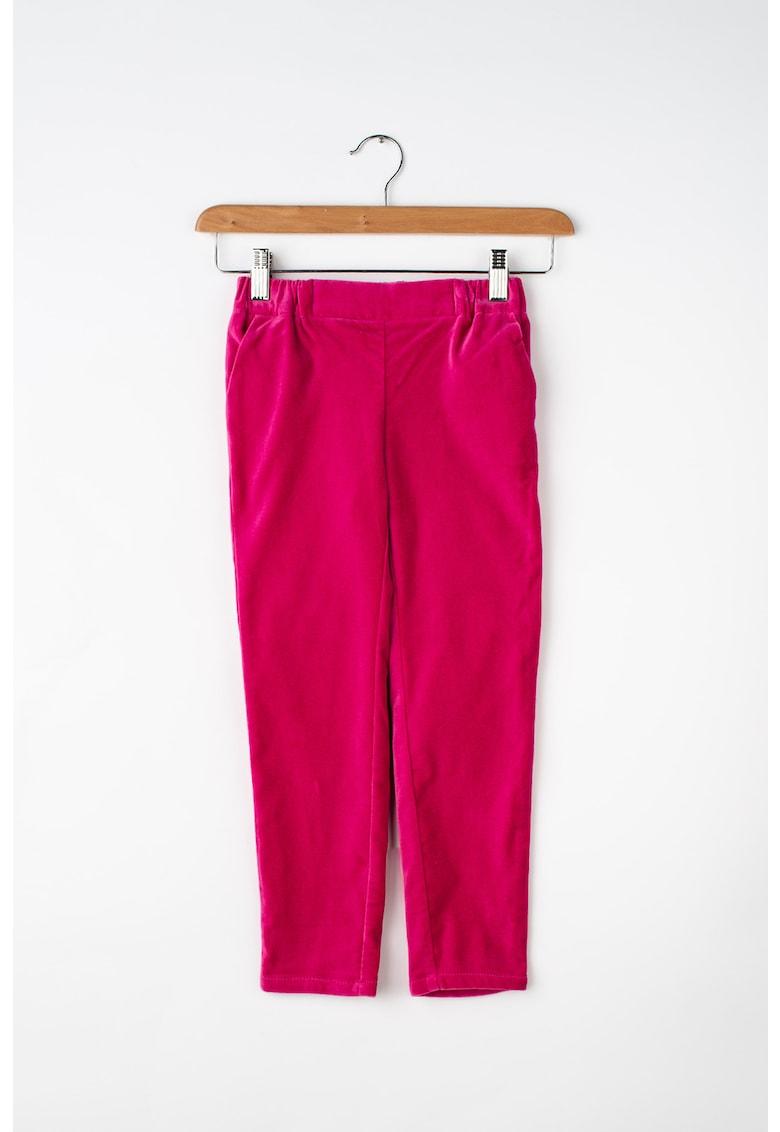 United Colors of Benetton Pantaloni de catifea – cu talie elastica