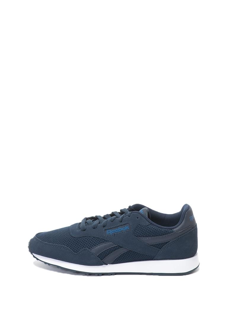 Reebok Classics Pantofi sport cu garnituri de piele intoarsa Royal Ultra