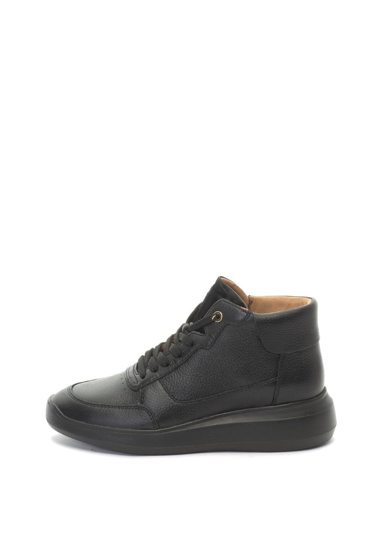 Pantofi sport high-top de piele Rubidia