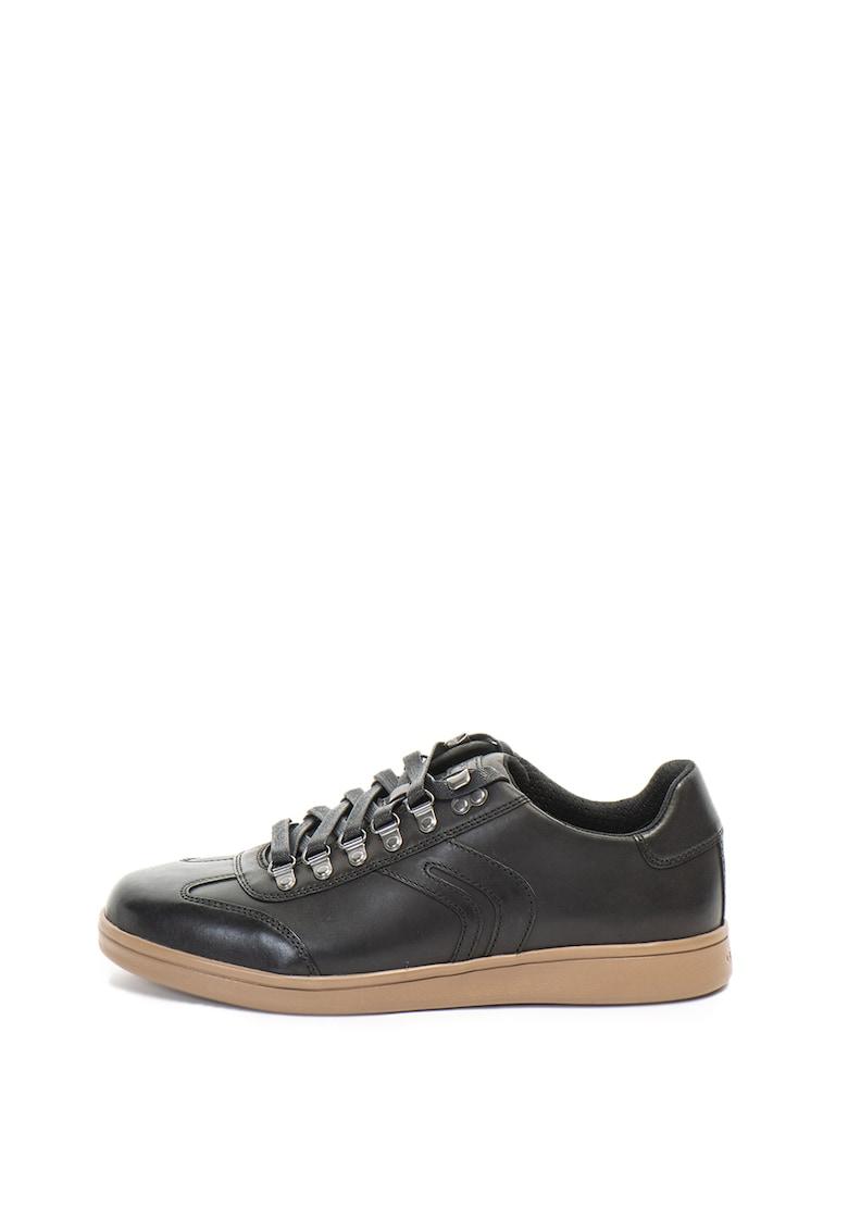 Pantofi casual de piele Warrens de la Geox