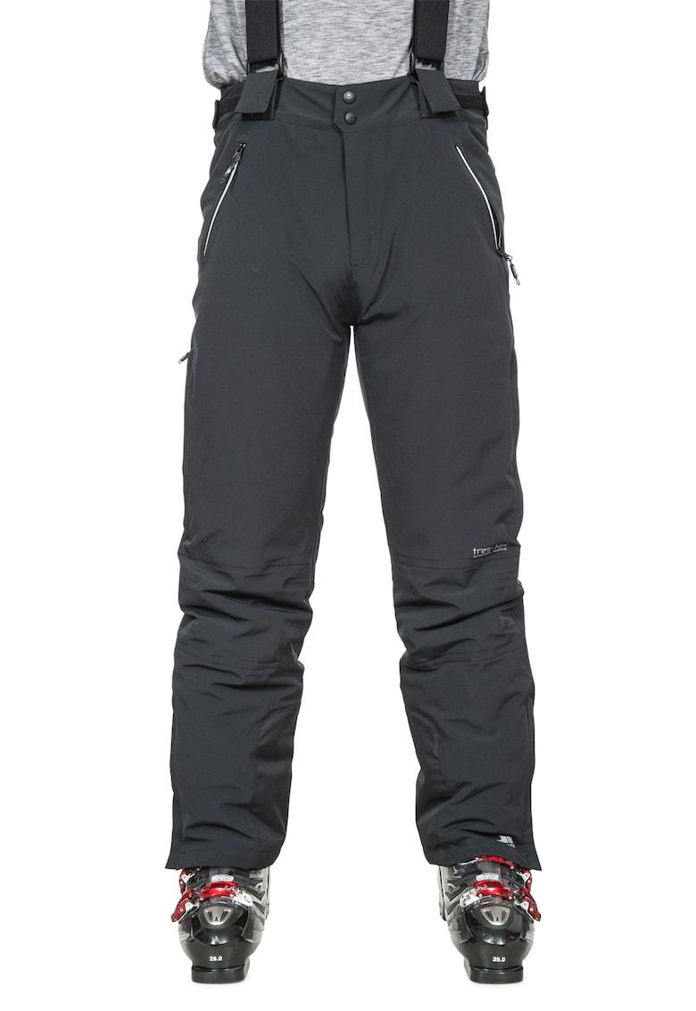 Pantaloni de schi cu bretele detasabile de la Trespass