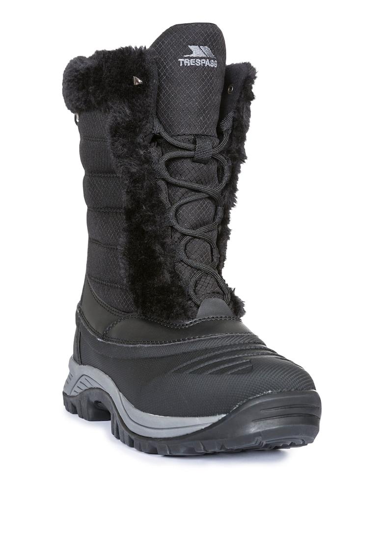 Cizme de iarna cu garnituri de blana sintetica Stalagmite II de la Trespass