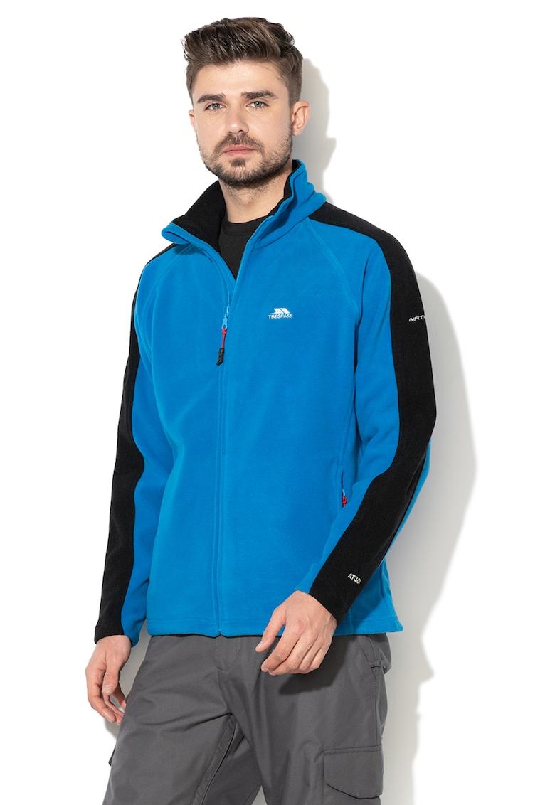 Trespass Bluza sport de fleece cu fermoar si tehnologie Air Trap™ – pentru alergare Acres