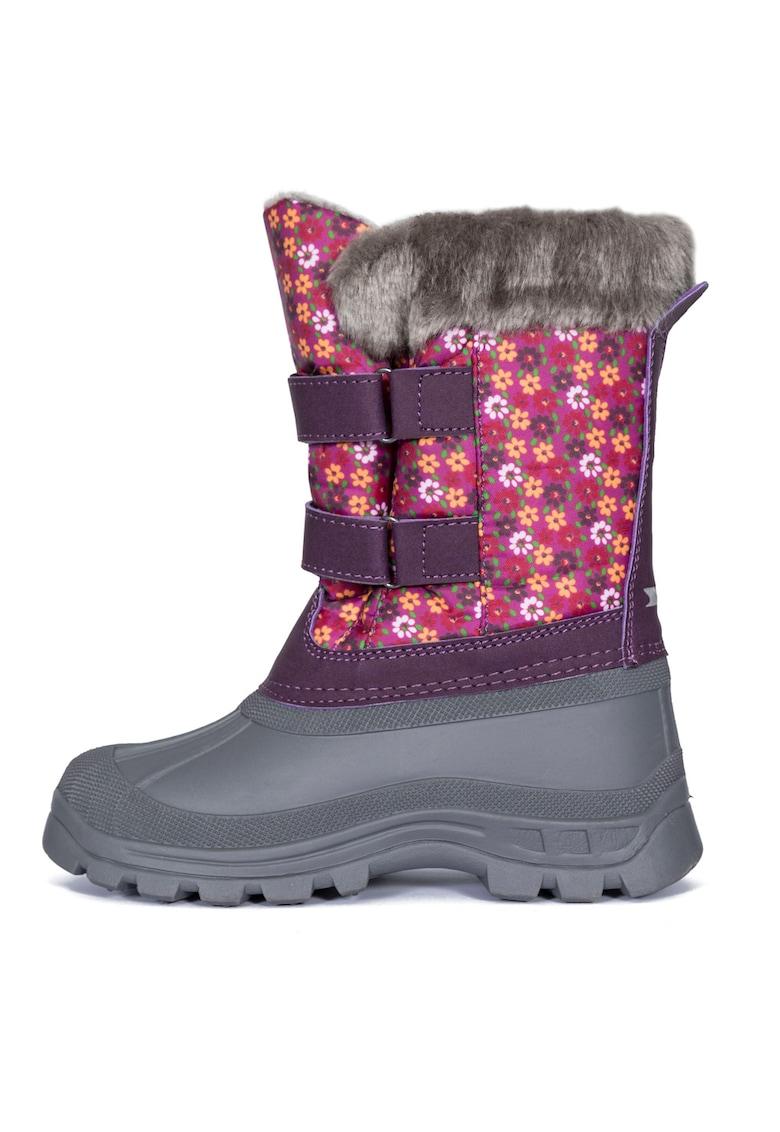 Cizme medii de iarna cu imprimeu floral si Coldheat® Vause Trespass