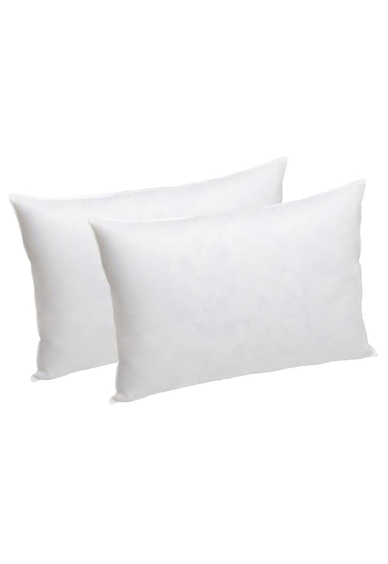 Set 2 perne sleep puf si pana de gasca - bumbac 100% - 50x70 cm imagine fashiondays.ro