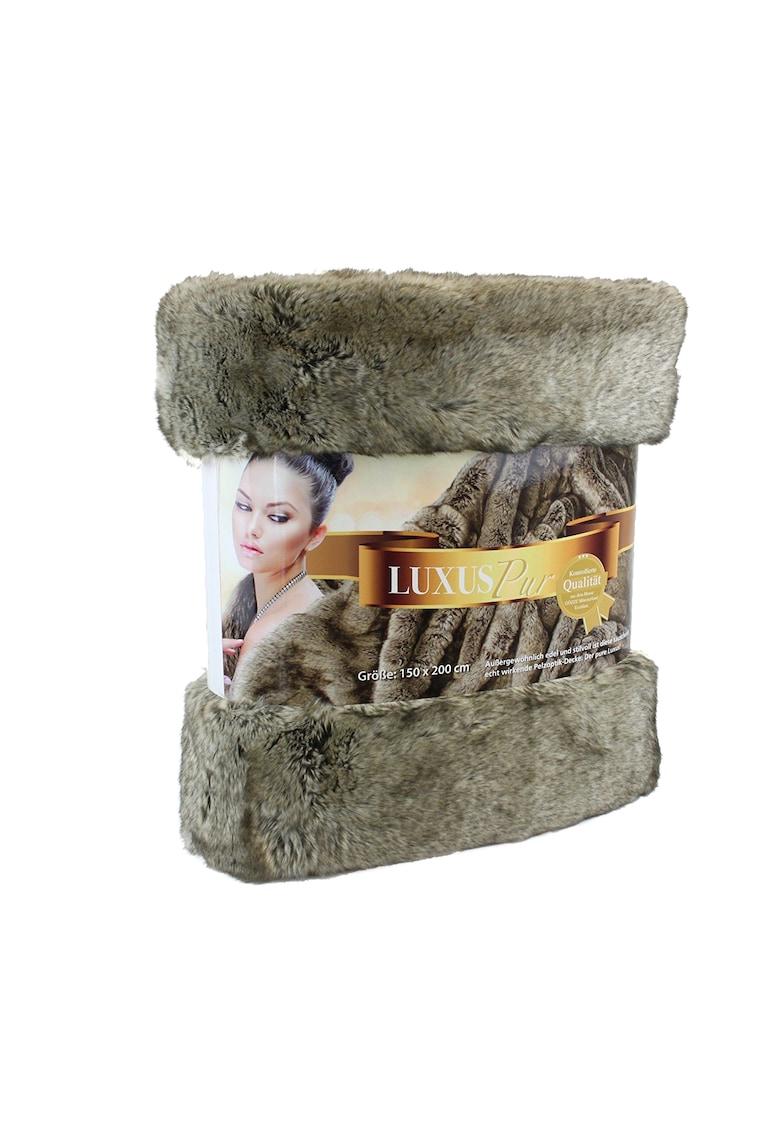 Patura imitatie blana 150 x 200 cm imagine fashiondays.ro 2021