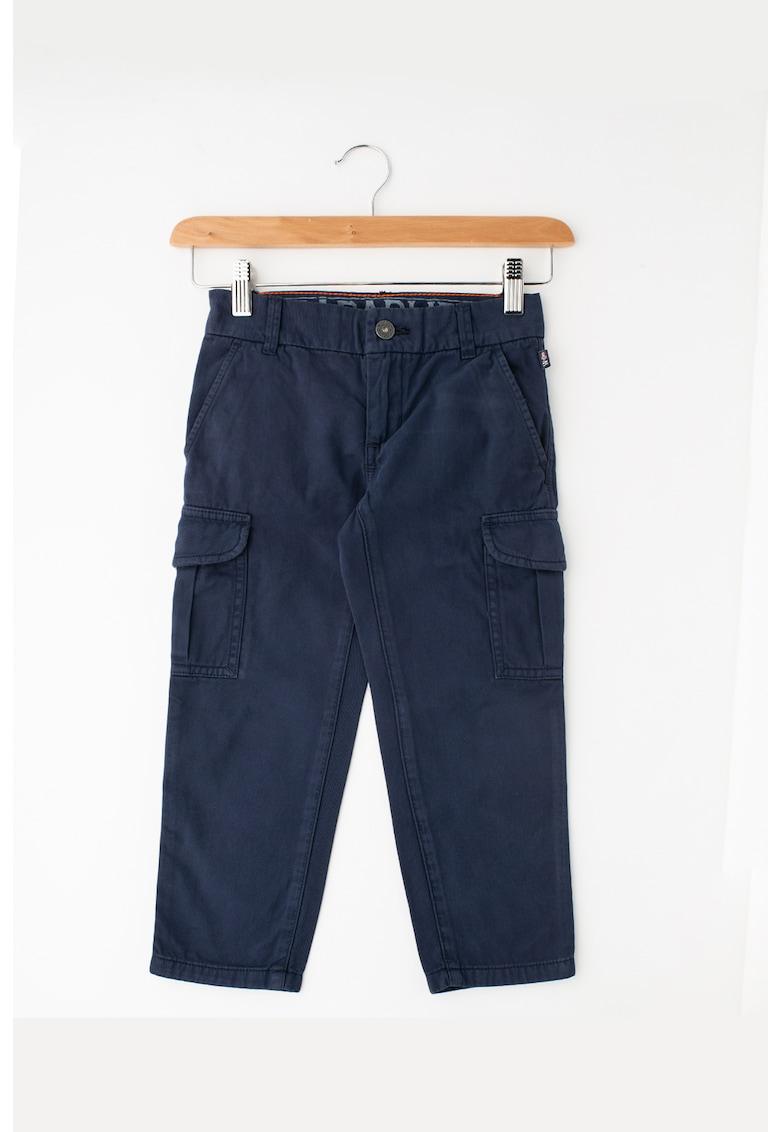 Pantaloni cargo cu buzunare aplicate Moab