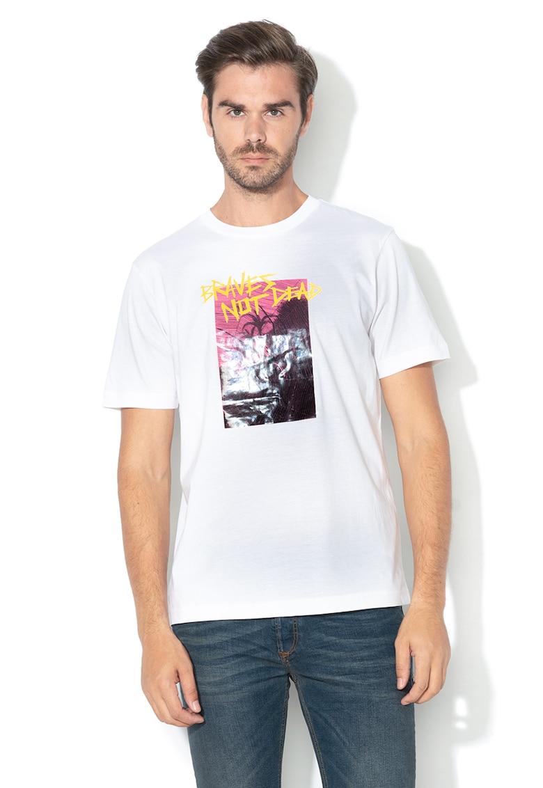 Tricou cu imprimeu grafic T-Just-XT