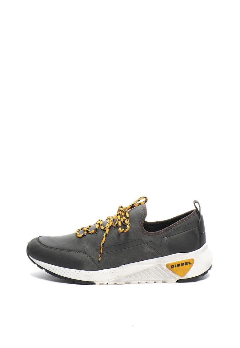 Pantofi sport slip-on de piele ecologica Kby imagine